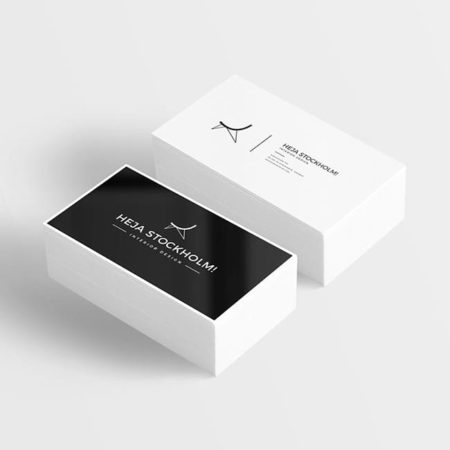 Business Card – with print option