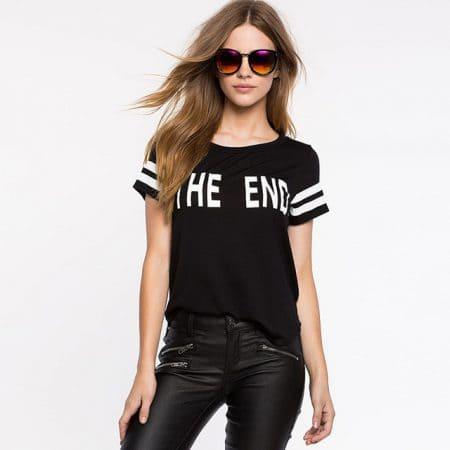 Women  T-Shirt J6