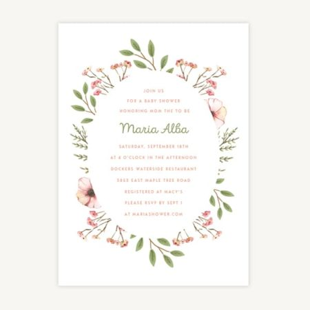 Wedding Invitation Template A5